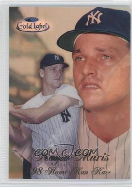 1998 Topps Gold Label Home Run Race Black Label #HR1 - Roger Maris