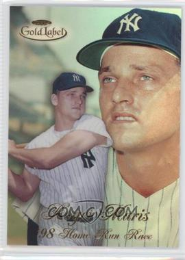 1998 Topps Gold Label Home Run Race #HR1 - Roger Maris