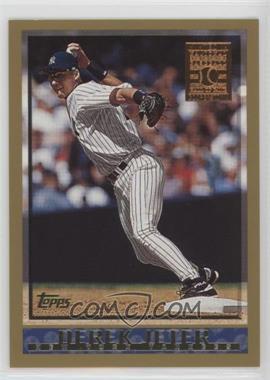 1998 Topps Minted in Cooperstown #160 - Derek Jeter