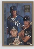 Ben Grieve, Dee Brown, Brett Butler [MISPRINTED]