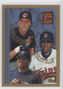 1998 Topps Minted in Cooperstown #257 - Richie Sexson, David Ortiz, Danny Walton