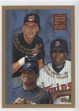 1998 Topps Minted in Cooperstown #257 - Richie Sexson, David Ortiz, Daryle Ward