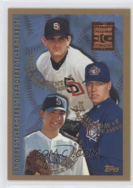 1998 Topps Minted in Cooperstown #264 - Brian Fuentes, Matt Clement, Roy Halladay