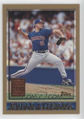 1998 Topps Minted in Cooperstown #300 - Roger Clemens