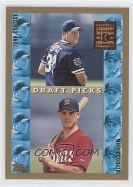 1998 Topps Minted in Cooperstown #494 - John Curtice, Michael Cuddyer