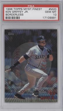 1998 Topps Mystery Finest Borderless #M20 - Ken Griffey Jr. [PSA 10]