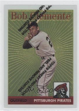 1998 Topps Roberto Clemente Reprints Finest #4 - Roberto Clemente