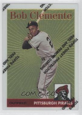1998 Topps Roberto Clemente Reprints Finest #4 - Roberto Clemente