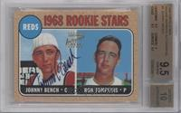 Ron Tompkins, Johnny Bench [BGS 9.5]