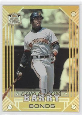1998 Topps Stars 'n Steel Gold Holographic #5 - Barry Bonds