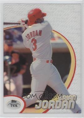 1998 Topps Tek - [Base] - Pattern 22 #75 - Brian Jordan