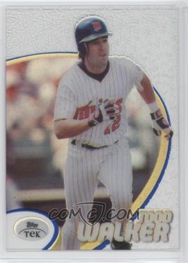 1998 Topps Tek - [Base] - Pattern 63 #24 - Todd Walker