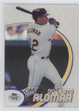 1998 Topps Tek Pattern 57 #67 - Roberto Alomar