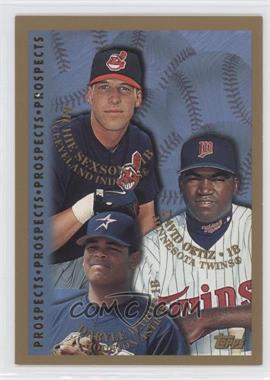 1998 Topps #257 - Richie Sexson, David Ortiz, Danny Walton