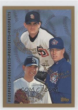 1998 Topps #264 - Brad Fullmer, Roy Halladay