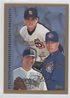 1998 Topps #264 - Roy Halladay, Brian Fuentes, Matt Clement