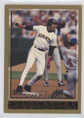 1998 Topps #317 - Barry Bonds