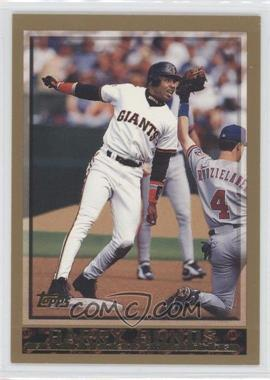 1998 Topps #317 - Barry Bonds