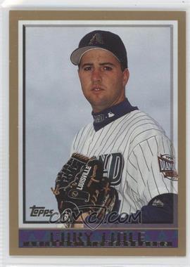 1998 Topps #348 - Cole Liniak