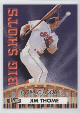1998 Ultra - Big Shots #12BS - Jim Thome