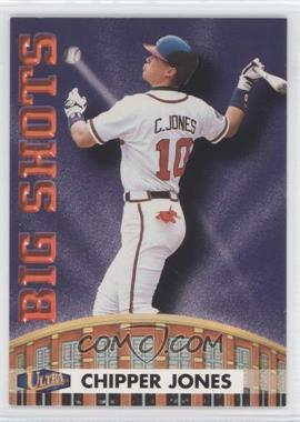 1998 Ultra Big Shots #3BS - Chipper Jones