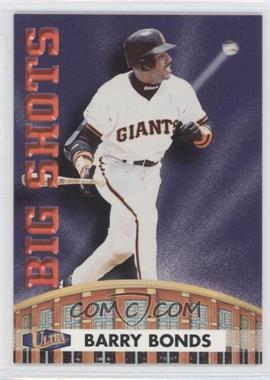 1998 Ultra Big Shots #8BS - Barry Bonds