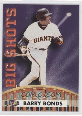 1998 Ultra Big Shots #8BS - Barry Bonds