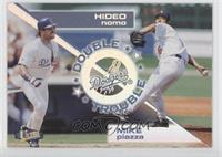 Mike Piazza, Hideo Nomo