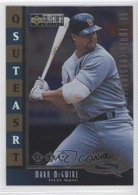 1998 Upper Deck Collector's Choice Starquest Triple #SQ10 - Mark McGwire