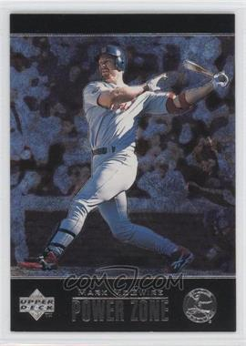 1998 Upper Deck Special F/X - Power Zone #PZ5 - Mark McGwire