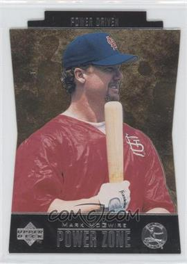 1998 Upper Deck Special F/X Power Zone Power Driven #PZ25 - Mark McGwire
