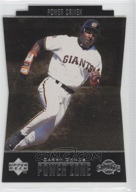 1998 Upper Deck Special F/X Power Zone Power Driven #PZ8 - Barry Bonds