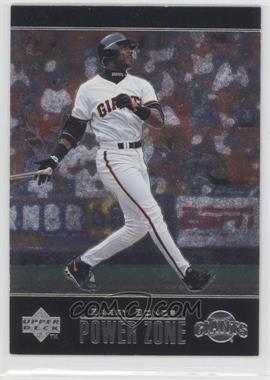 1998 Upper Deck Special F/X Power Zone #PZ6 - Barry Bonds