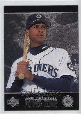 1998 Upper Deck Special F/X Power Zone #PZ8 - Alex Rodriguez