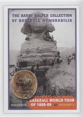 1999 Barry Halper Collection of Baseball Memorabilia Sotheby's - [Base] #8 - Baseball World Tour of 1888-89