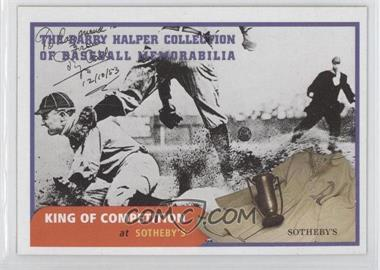 1999 Barry Halper Collection of Baseball Memorabilia Sotheby's #10 - Ty Cobb