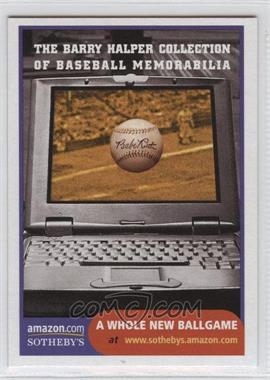 1999 Barry Halper Collection of Baseball Memorabilia Sotheby's #14 - [Missing]