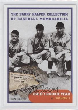 1999 Barry Halper Collection of Baseball Memorabilia Sotheby's #4 - Joe DiMaggio