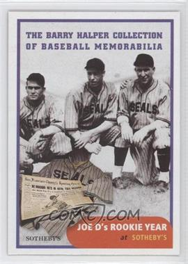 1999 Barry Halper Collection of Baseball Memorabilia Sotheby's #4 - [Missing]