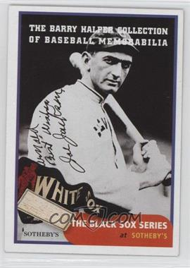 1999 Barry Halper Collection of Baseball Memorabilia Sotheby's #5 - Joe Jackson