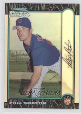 1999 Bowman Chrome - [Base] - Refractors #136 - Phil Norton
