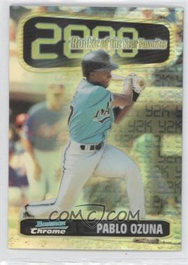 1999 Bowman Chrome - Rookie of the Year Favorites - Refractors #ROY6 - Pablo Ozuna