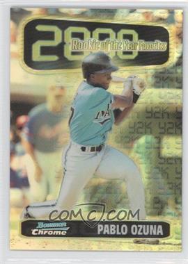 1999 Bowman Chrome [???] #ROY6 - Pablo Ozuna