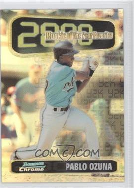 1999 Bowman Chrome [???] #ROY6 - Pablo Ozuna