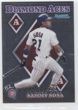 1999 Bowman Chrome Diamond Aces #DA16 - Sammy Sosa