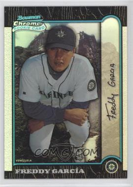 1999 Bowman Chrome International Refractors #404 - Freddy Garcia /100
