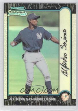 1999 Bowman Chrome Refractors #350 - Alfonso Soriano