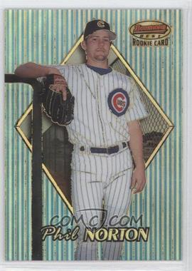 1999 Bowman's Best Refractor #182 - Phil Norton /400