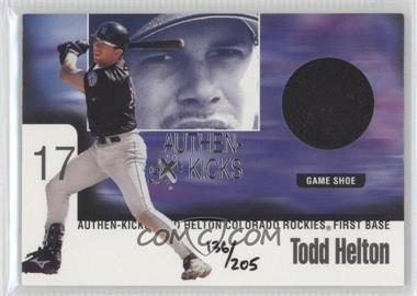 1999 EX Century [???] #6AK - Todd Helton /205