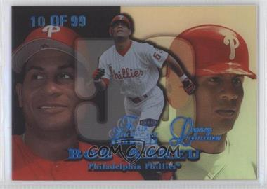 1999 Flair Showcase [???] #88L - Bobby Abreu /99